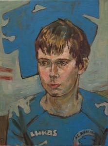 portræt af en dreng