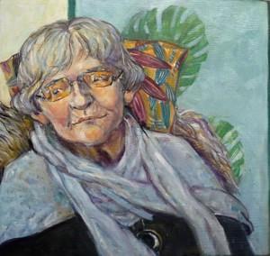 portrætmaleri af ældre