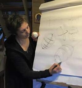 portrætmaleri og portrættegning undervisning af portrætmaler Xenia Michaesen kursus beskrivelser