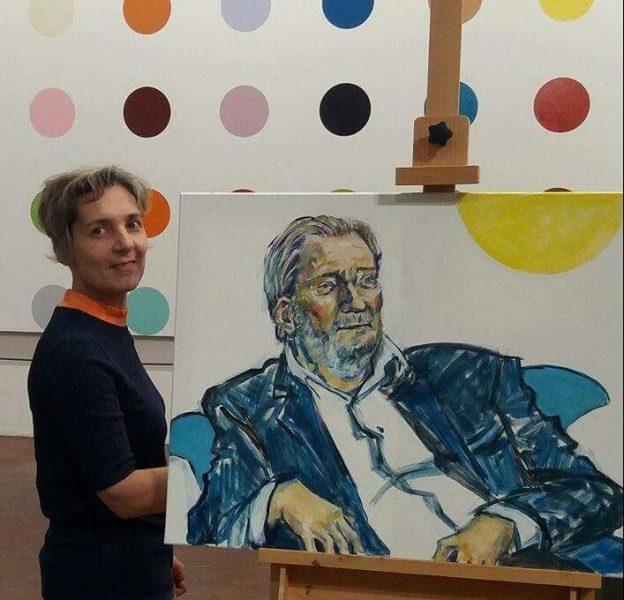 portrætmaler DR1 Xenia Michaelsen