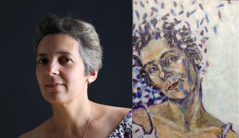 DR1 Danmarks bedste portrætmaler Xenia Michaelsen