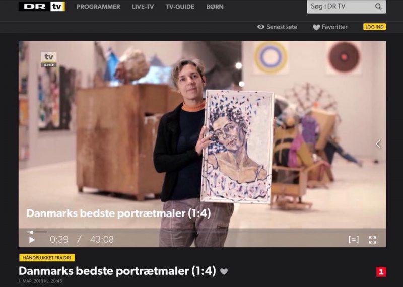 DR1 Danmarks bedste portrætmaler