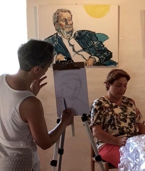 portrætmaleri masterklas