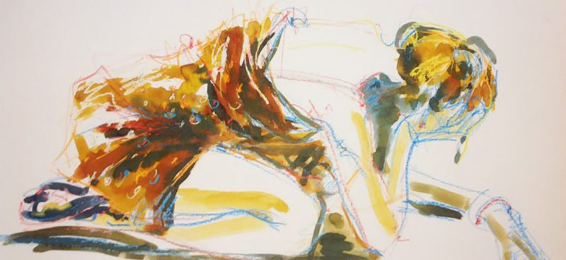 croquis til salg kunstner Xenia Michaelsen